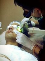 Nirunda Infinity Skin Clinic - Bangkok - While doing treatment process from specialist