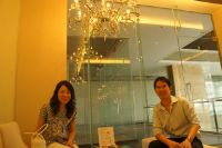 Nirunda Infinity Skin Clinic - Bangkok - luxury Waiting area.you will never get bored