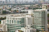 Yanhee Hospital -Bangkok - View from outside