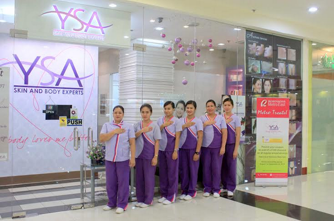 YSA Skin & Body Experts (Robinsons Metroeast) - Medical Clinics in Philippines