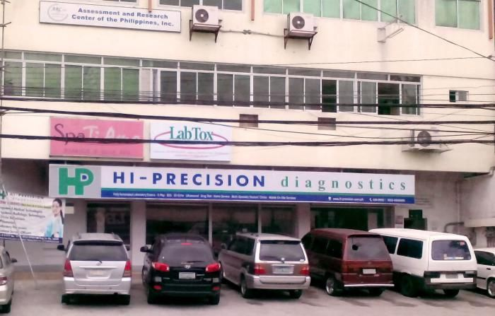 Hi-Precision Diagnostics Plus (Rockwell) - Medical Clinics in Philippines