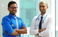 Dr. Shashi and Dr. Roland
