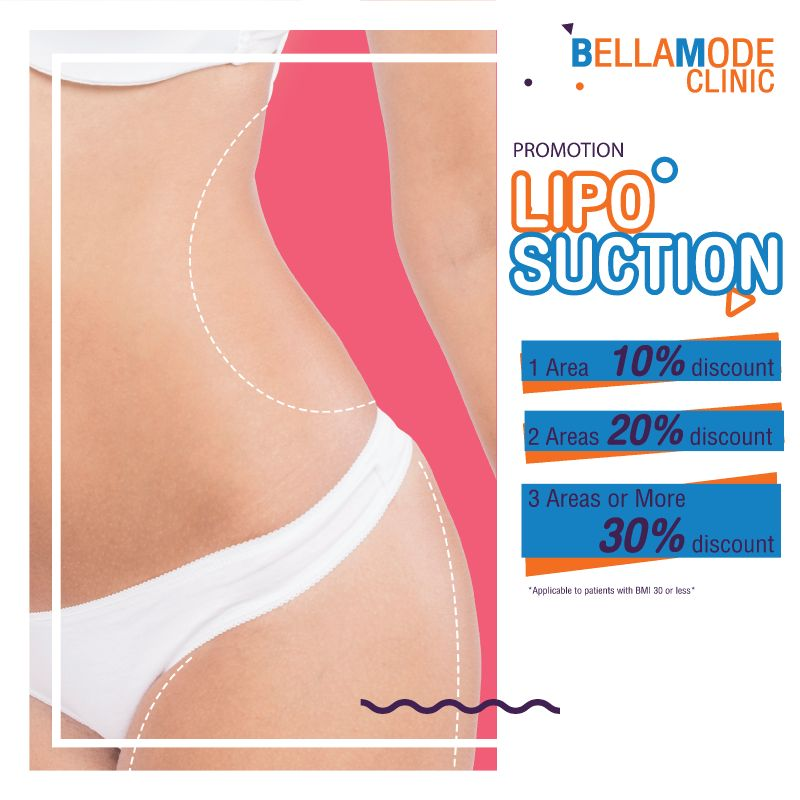 Get 10-30% for Liposuction