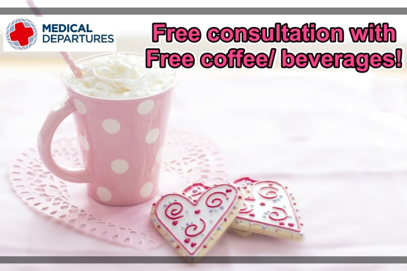 Get Free consultation with Free coffee/ beverages(cafes) at Bellamode Clinic.