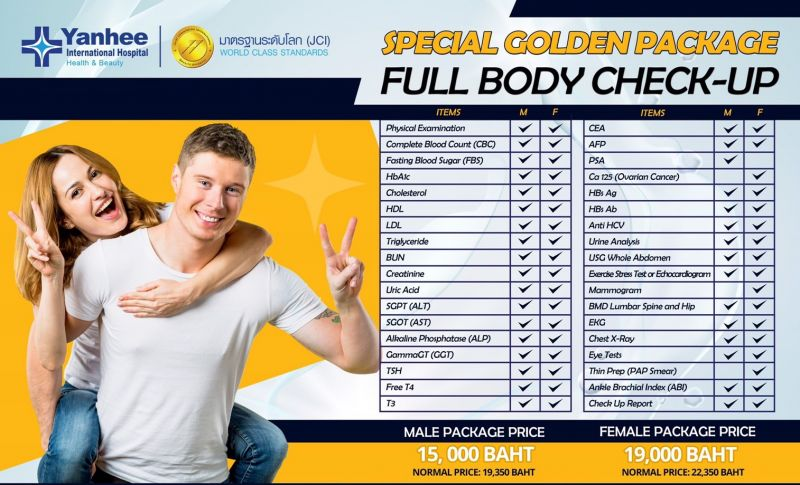 Special Body Health Check up Package!