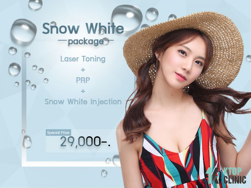 Snow White Package at KTOP Clinic