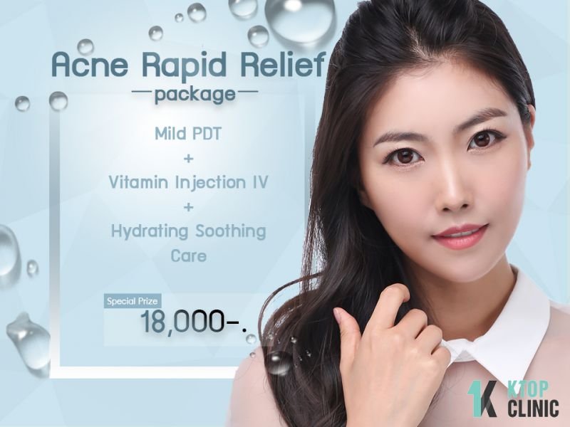 Acne Rapid Relief Package  at KTOP Clinic