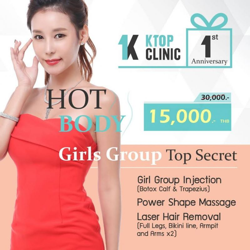 1st Year Anniversary Package at Ktop Clinic