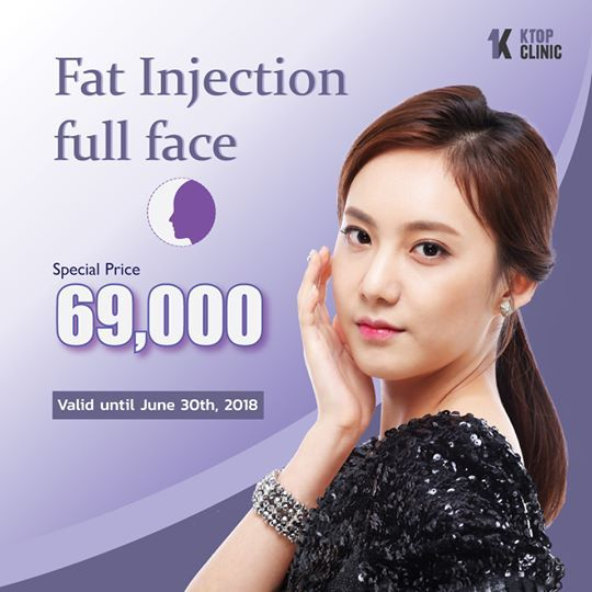 Get your Fat Injection full face at KTOP Clinic