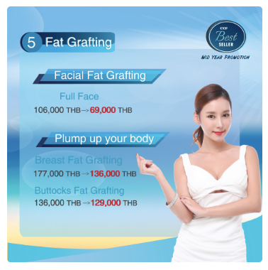 Get Fat graft promotion at KTOP Clinic