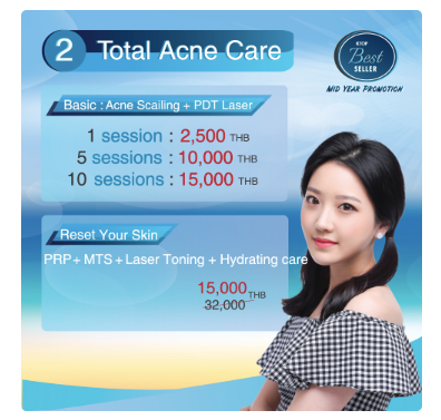 Get Acne Care Promotion at KTOP clinic