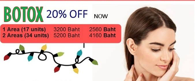 Get 20% discount off for Botox at MedConsult International Clinic
