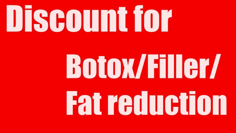 Get discount price for Botox/Filler/Fat reduction at Dermaplus Phuket