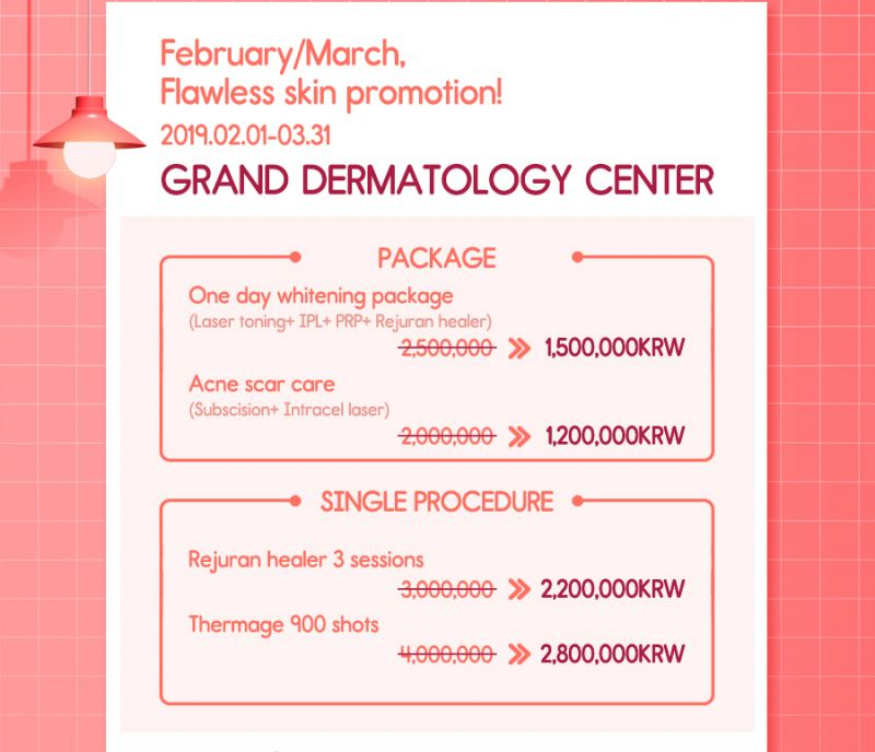 Flawless Skin Promotion at Grand Plastic Surgery