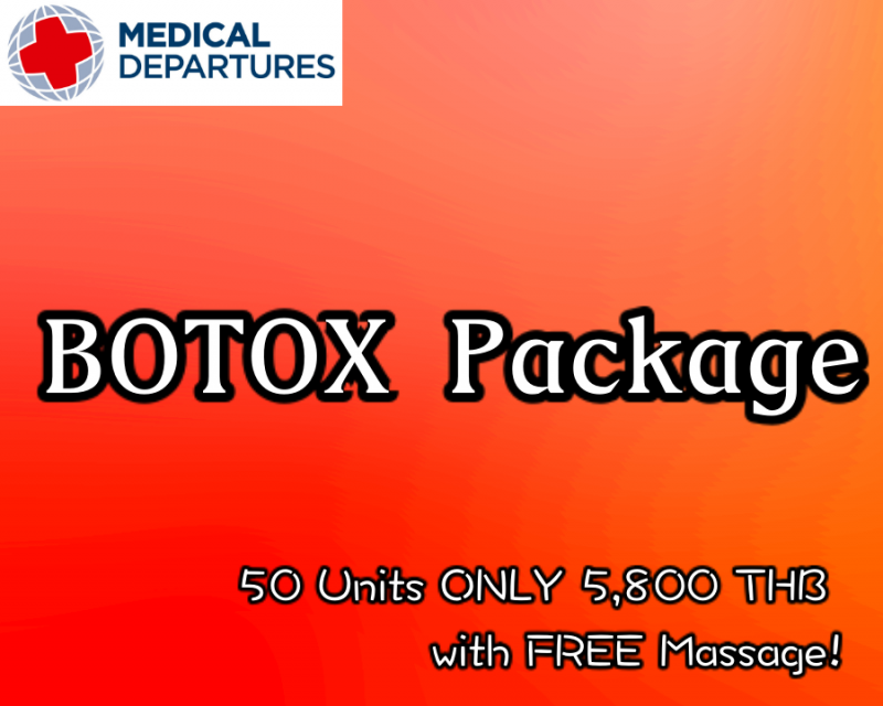 Botox package at Healthy Skin Clinic