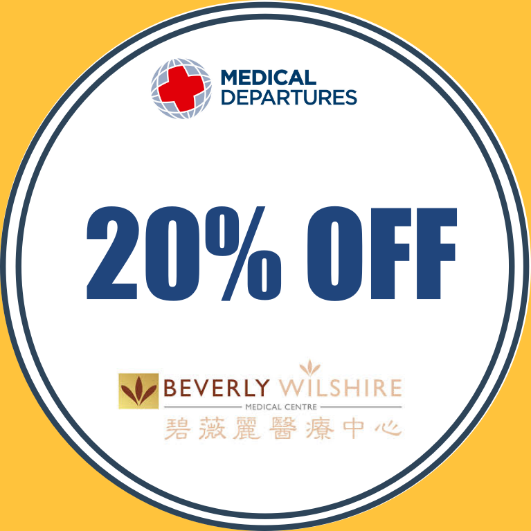 Get 20% off for all procedures!!