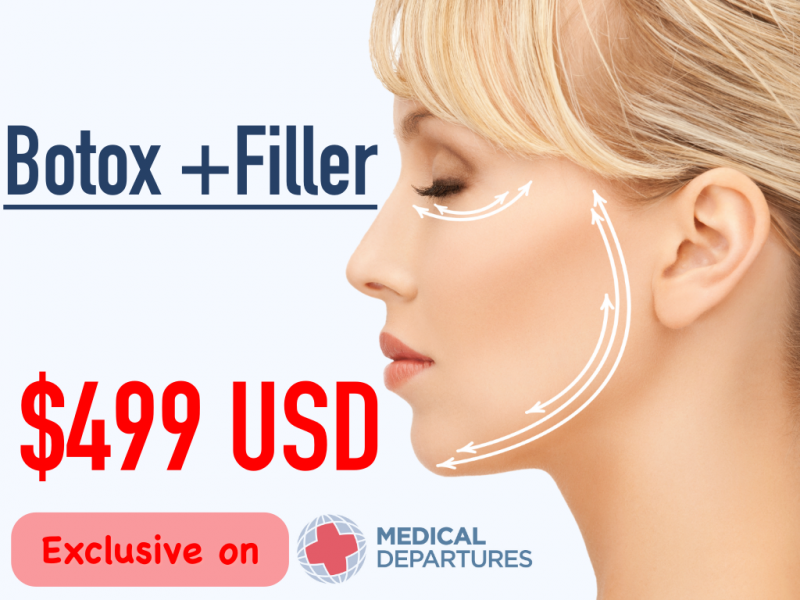 Special price for Botox+Filler