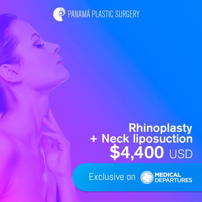 Get special price for Rhinoplasty+Neck Liposuction