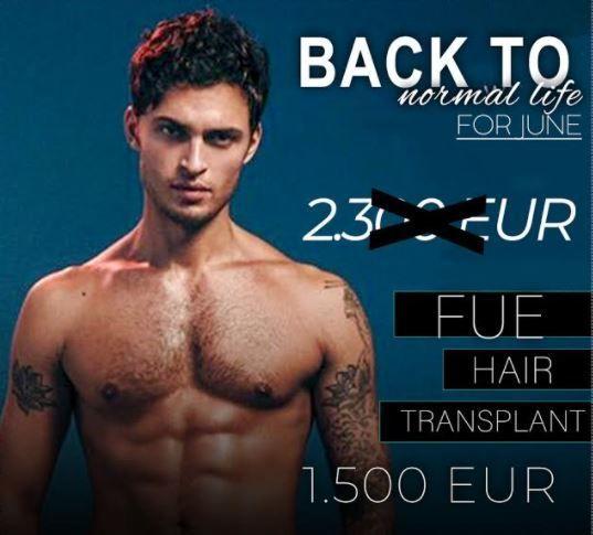 FUE Hair Transplant - Estetik International Bursa