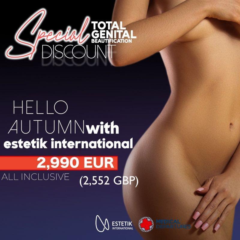 Exclusive promotion: Total Genital Beautification at Estetik International Medical Bursa