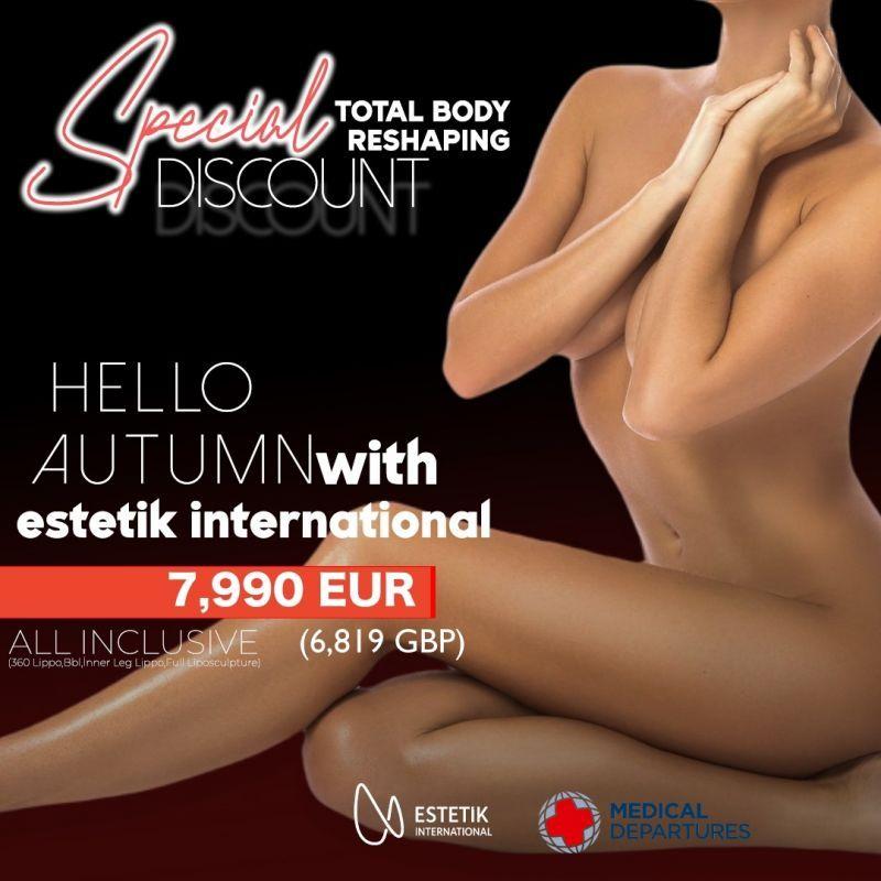 Special discount for Body reshaping at Estetik International Medical Bursa